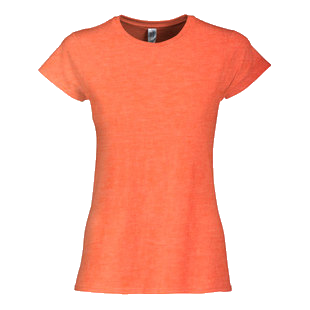 dames T-shirt comfort cut 100% pre shrunk katoen